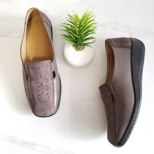 HOTTER Calypso Comfort Loafers Casual Shoes Mauve